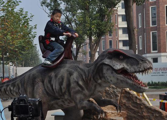 霸王龙又名暴龙,学名tyrannosaurs.rex的意思是残暴的蜥蜴王.